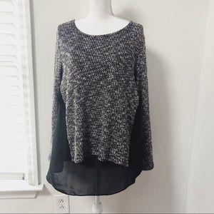 Bar III   Layered Hi-Low Sweater